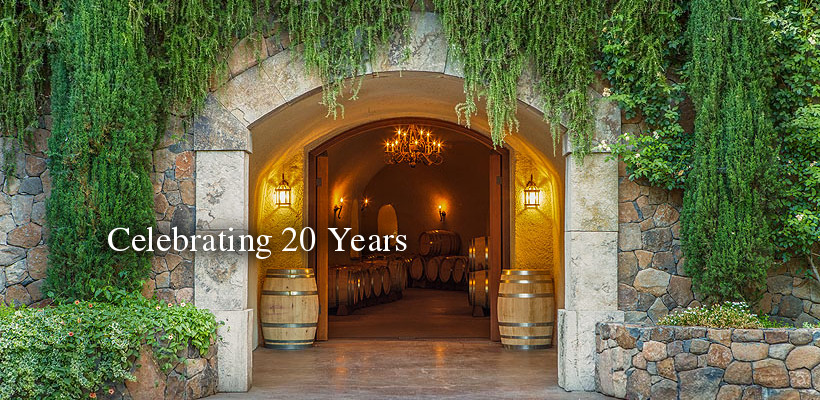 Celebrate 15 Years of Estate Winemaking